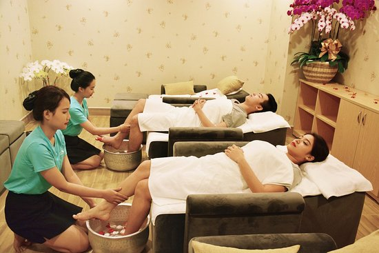 having massage